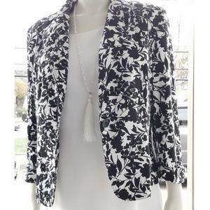 Apostrophe Black/White Jacket/Blazer,  14
